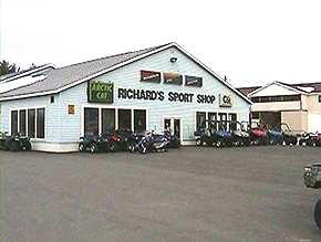 Richard's Sports Shop Storefront
